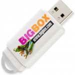 Clé USB Slider - blanc