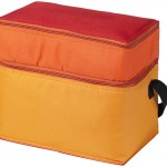 Pornic, sac isotherme 2 compartiments - rouge