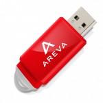 Clé USB Slider - rouge